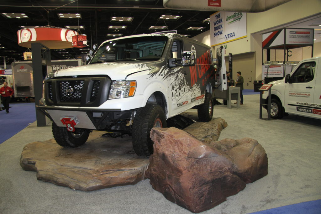 Nissan Showcased Full Commercial Vehicle Lineup At The 2017 Work Truck Show In Indianapolis