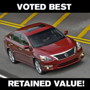 The 2014 Nissan Altima Has The Best Retained Value For A Midsize
