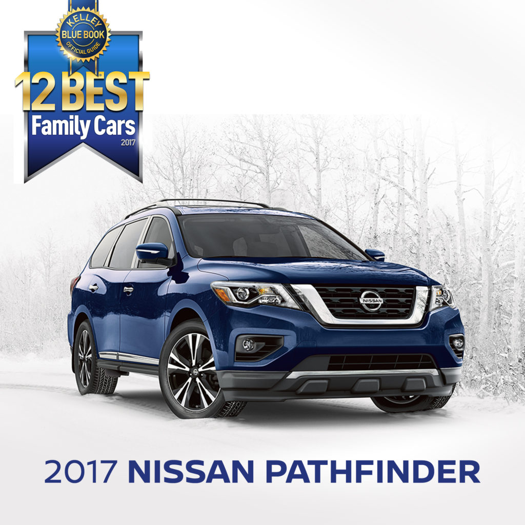 "Kelley Blue Book names Nissan Pathfinder one of the ""12 Best Family ..."