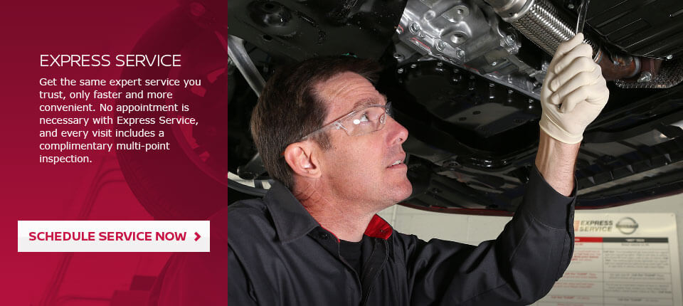 Expert Service for Nissan Cars Available at Mossy Nissan of