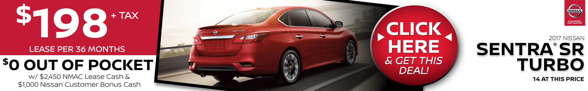Sentra Purchase SRP