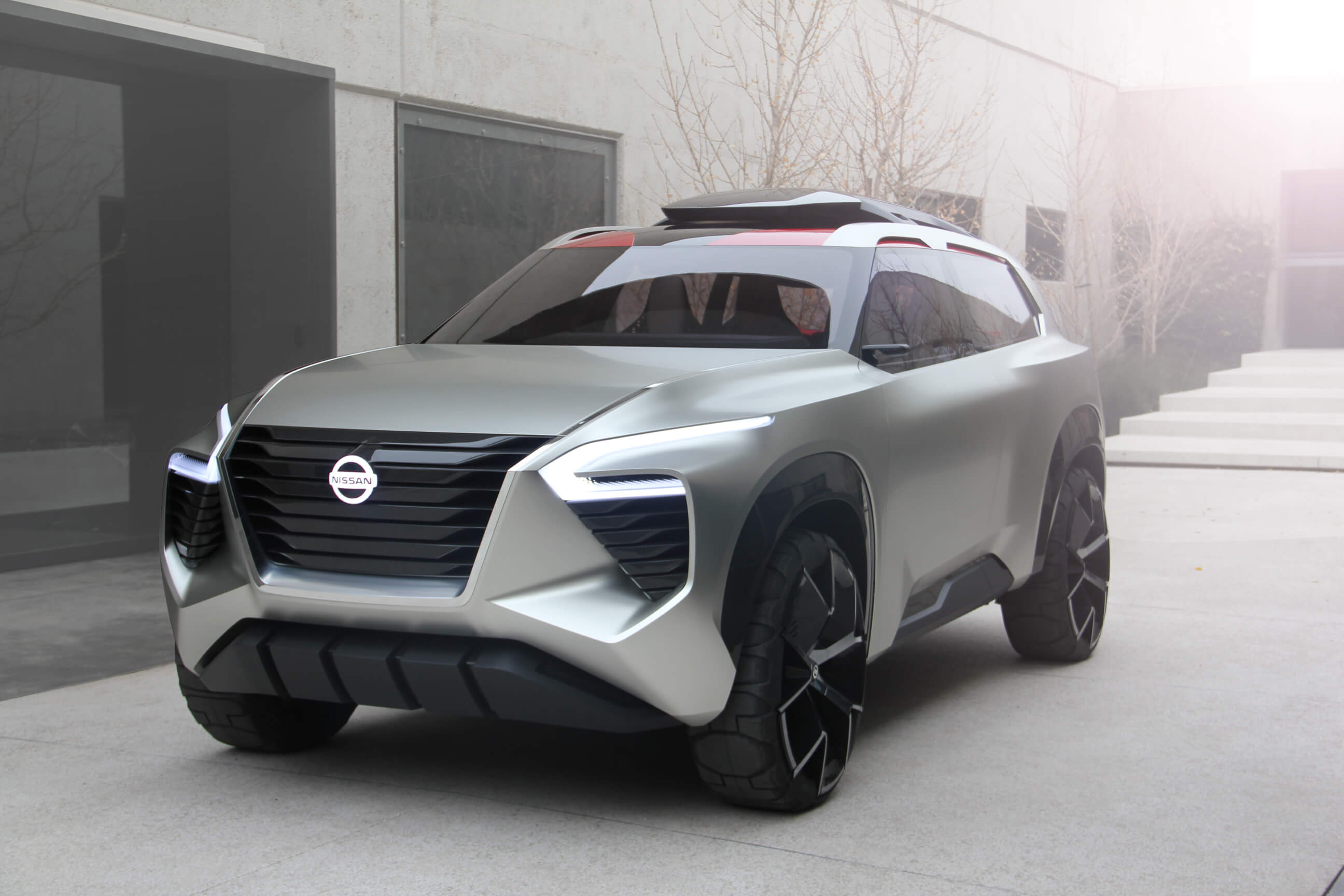Nissan Unveils Xmotion Concept Car At 2018 North American