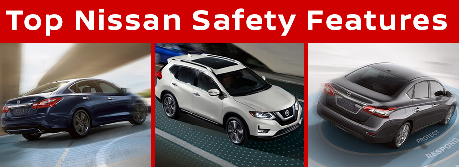 Top Nissan Safety Features Mossy