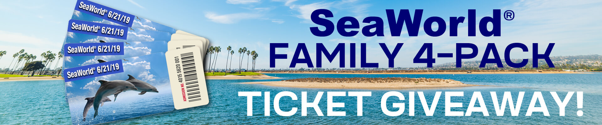 SeaWorld Family 4-Pack Ticket Giveaway!