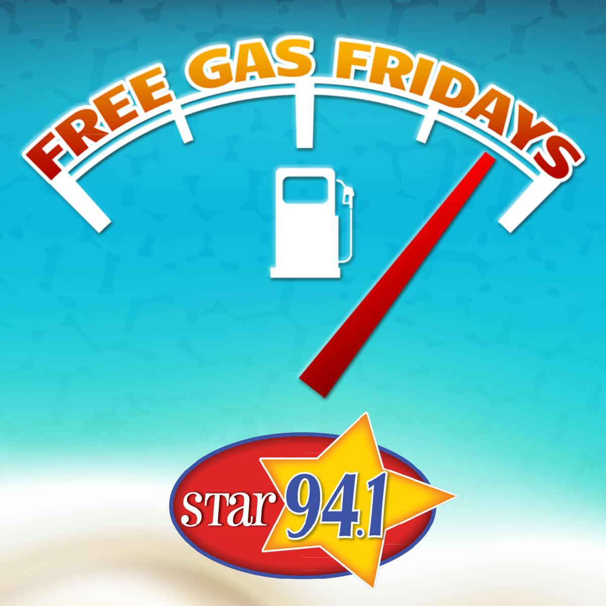 Free Gas Fridays Star 94.1