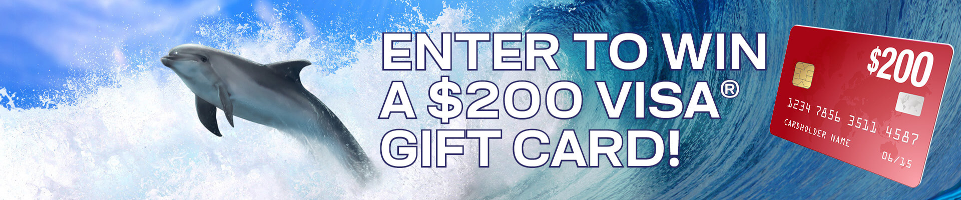 Enter to win a $200 Visa Gift Card