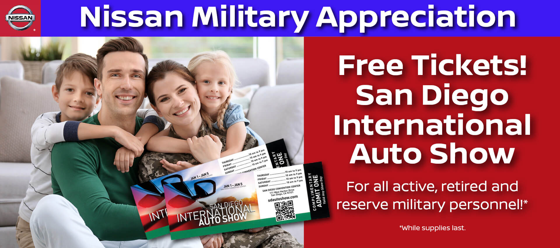 Nissan Military Appreciation
