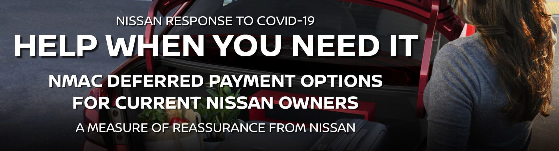 Nissan Response to COVID-19 | NMAC Deferred Payment Options for Current Nissan Owners