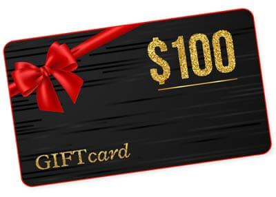 One-Hundred-Dollar Gift Card