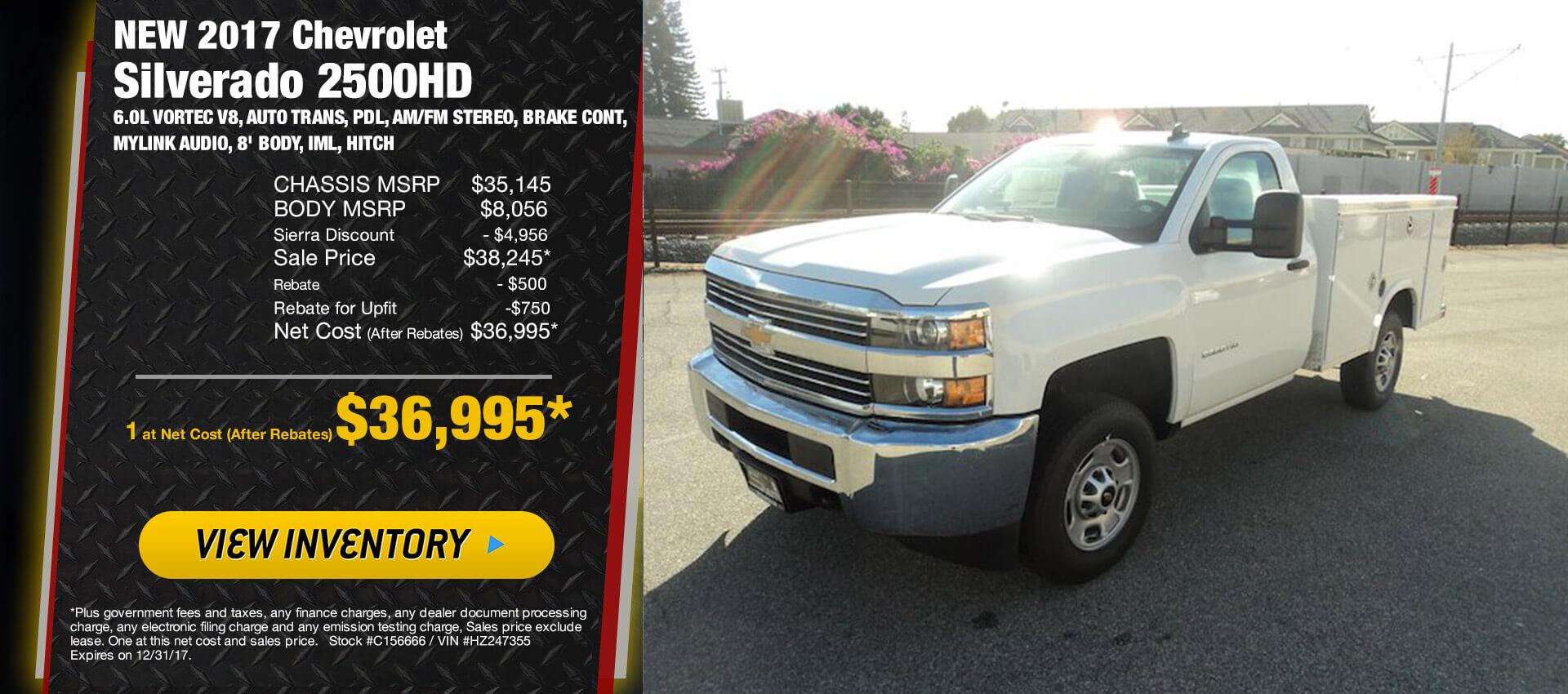 Silverado 2500 work truck