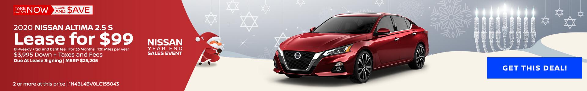 Nissan Altima $105 Lease