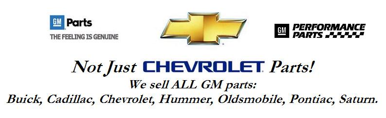 Genuine Gm Parts >> Visit Our Parts Department For Genuine Chevrolet Parts For Your Car