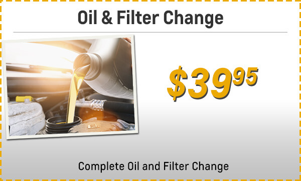 Oil & Fliter Change