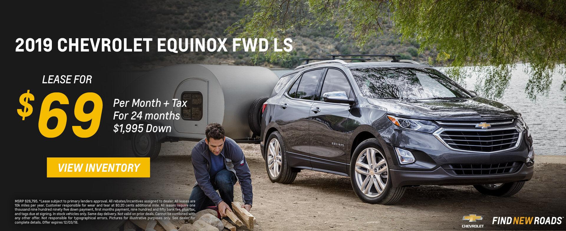 Chevrolet Equinox $69 Lease