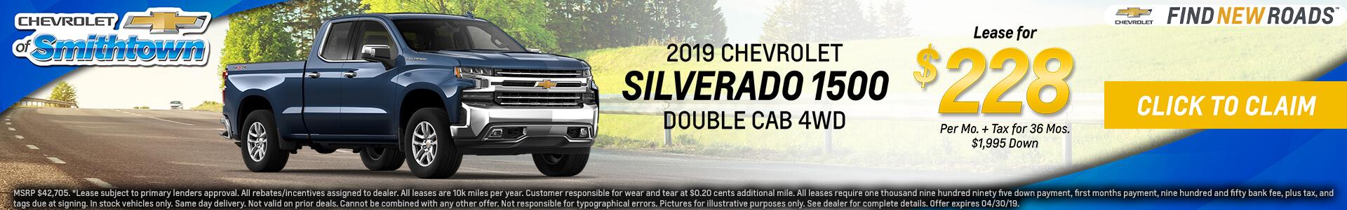 Chevrolet Silverado $228 Lease