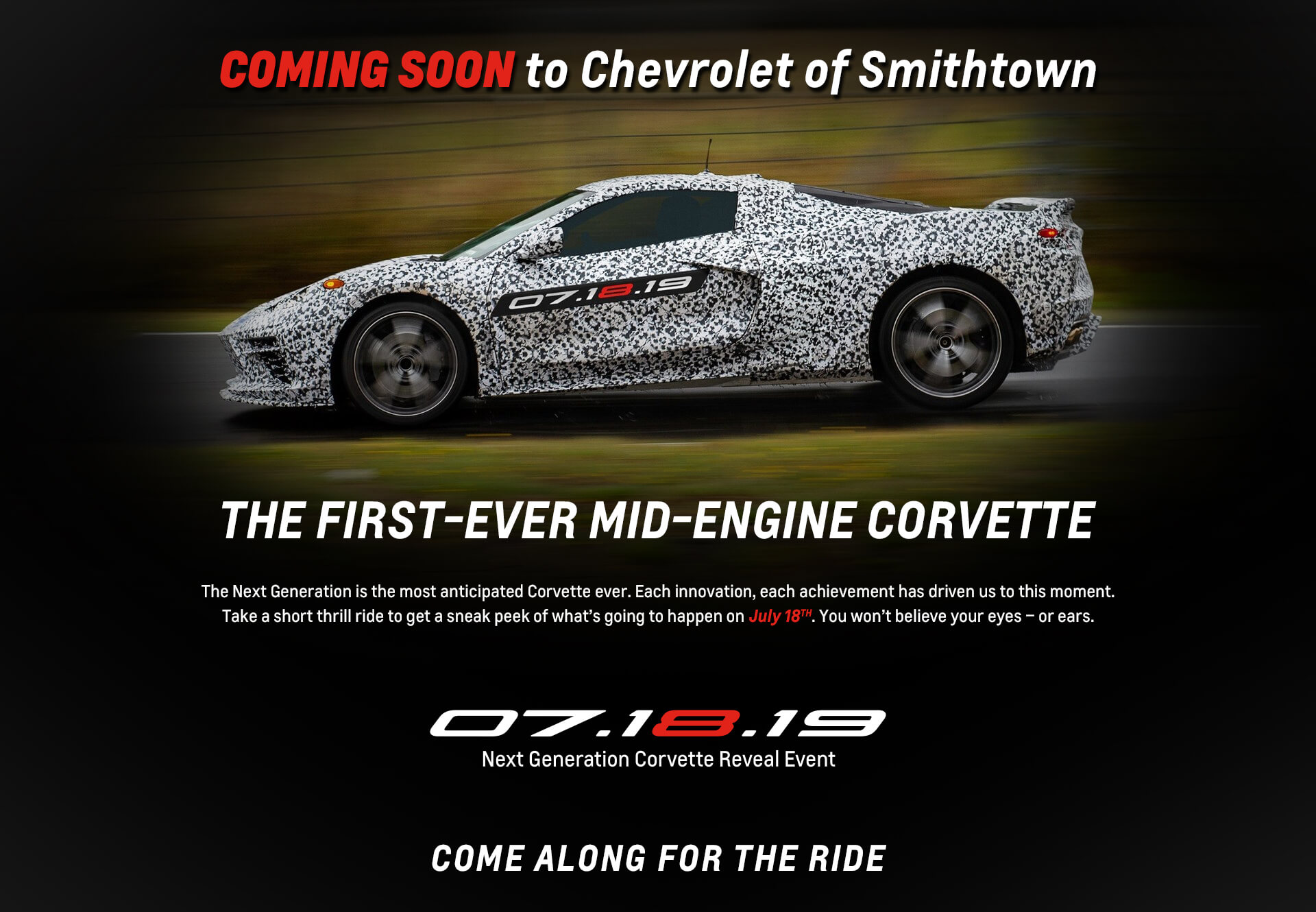 The First-Ever Mid-Engine Corvette