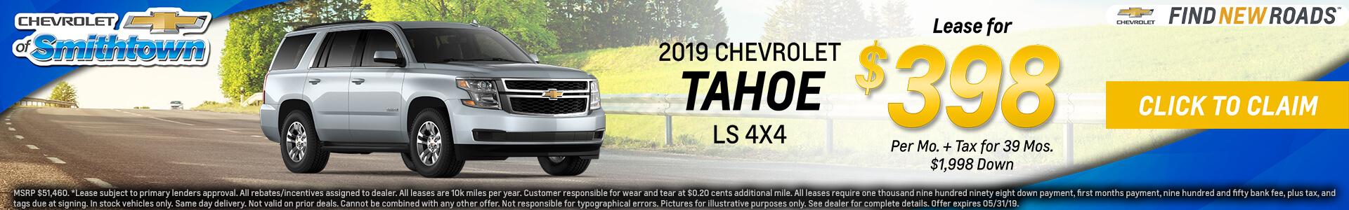 Chevrolet Tahoe $398 Lease