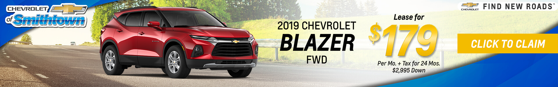 Chevrolet Blazer $179 Lease