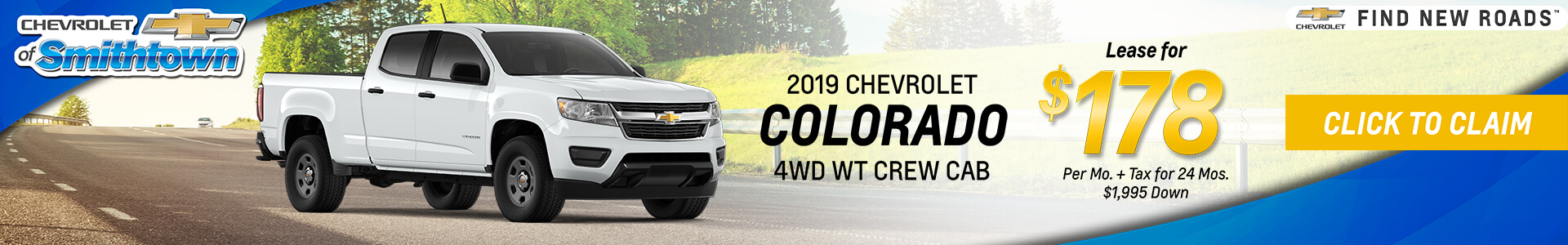 Chevrolet Colorado $178 Lease