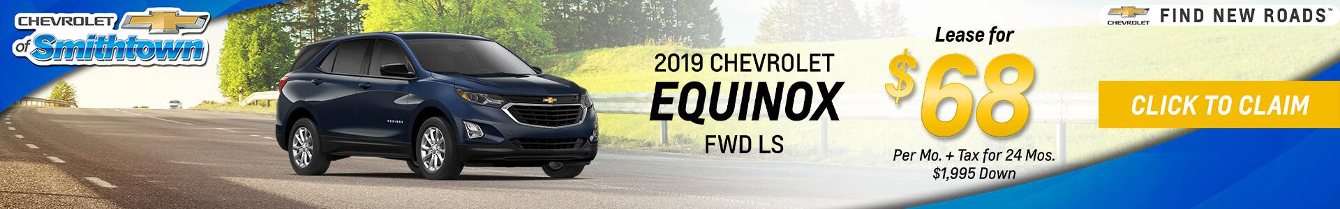 Chevrolet Equinox $68 Lease