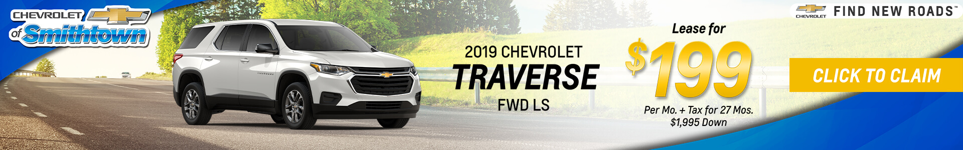 Chevrolet Traverse $199 Lease