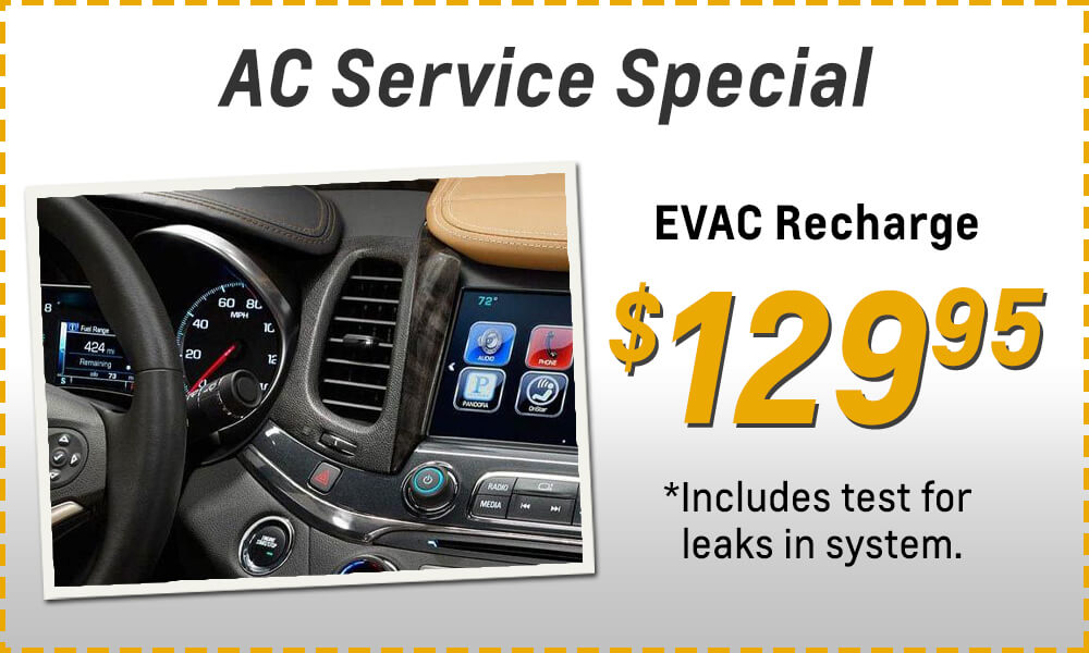 Special Prices on Service and Routine Maintenance in Smith Town