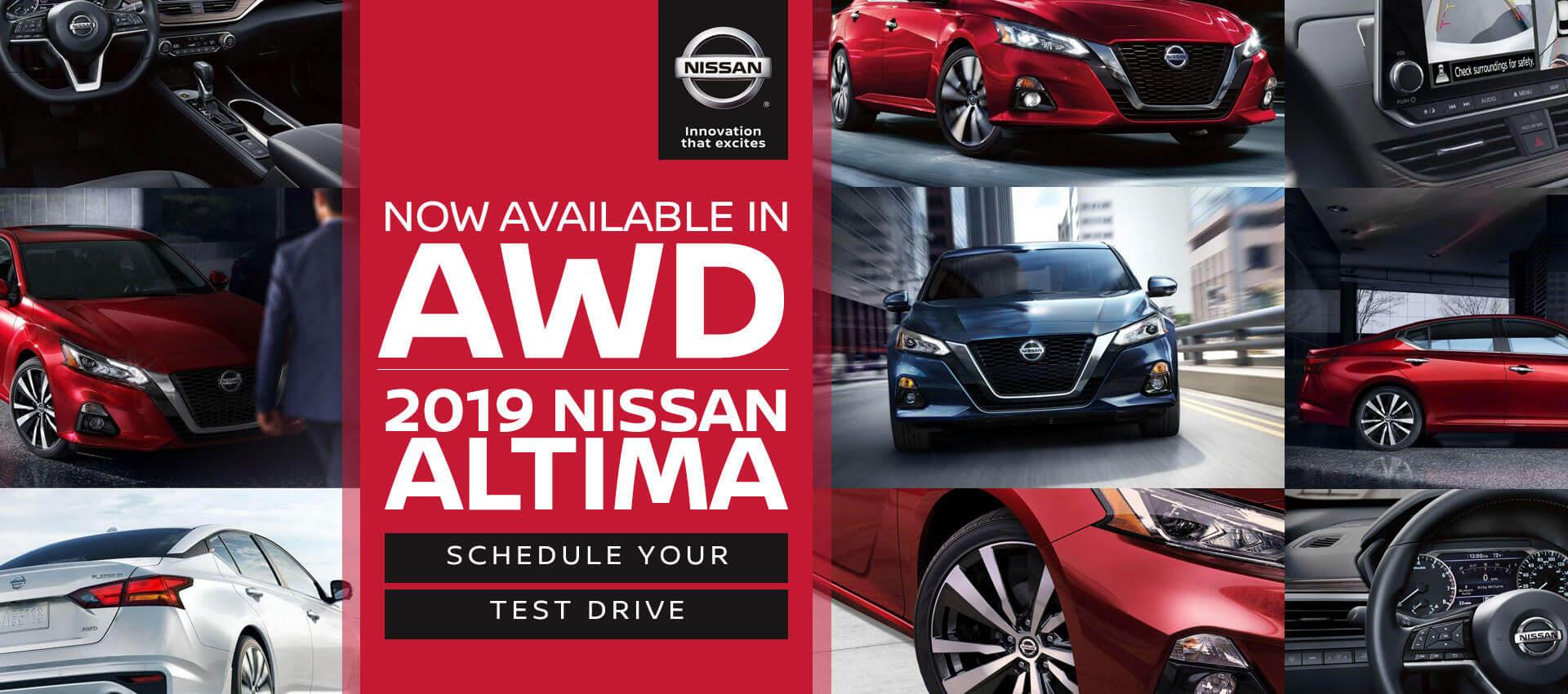 New Altima AWD