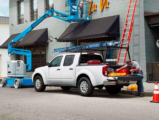 Frontier Work Truck