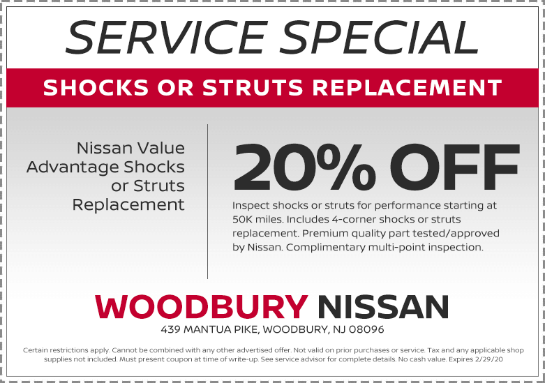 SHOCKS OR STRUTS REPLACEMENT
