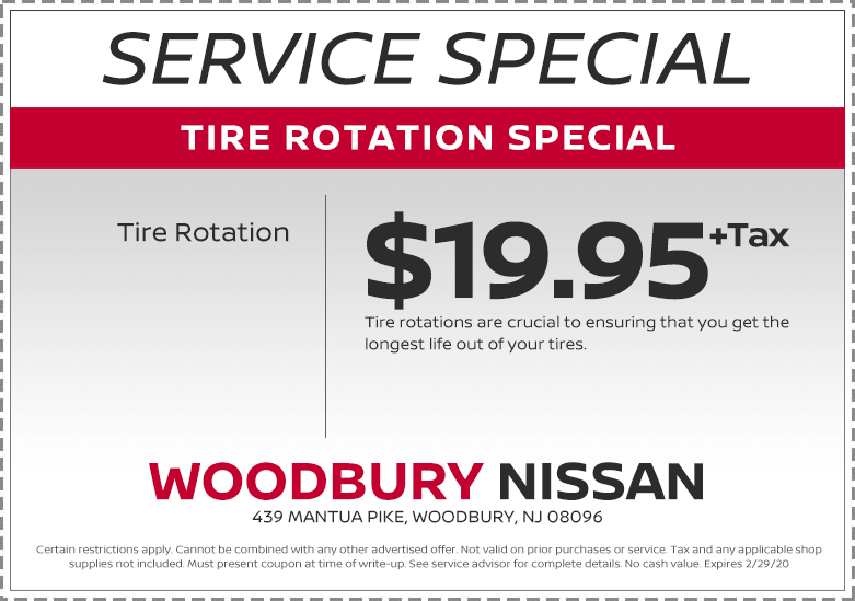 TIRE ROTATION SPECIAL