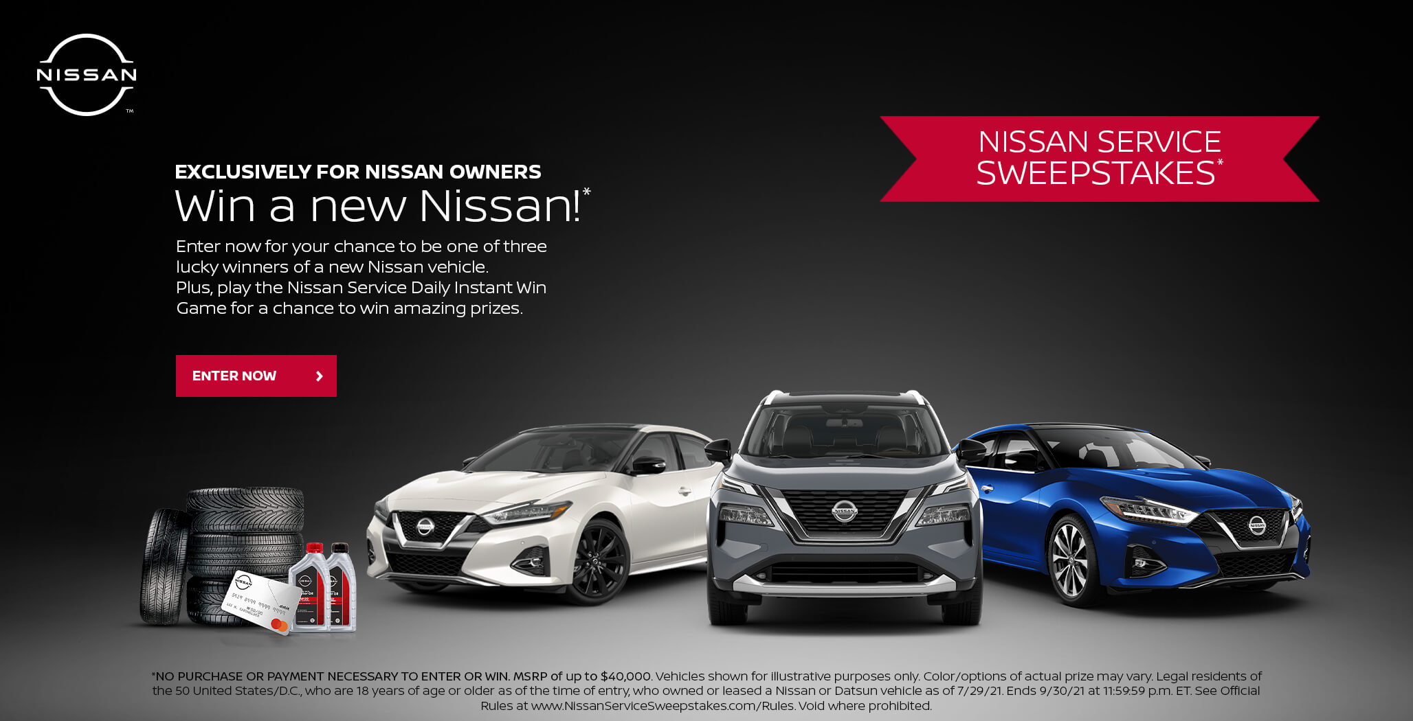 Win a new Nissan