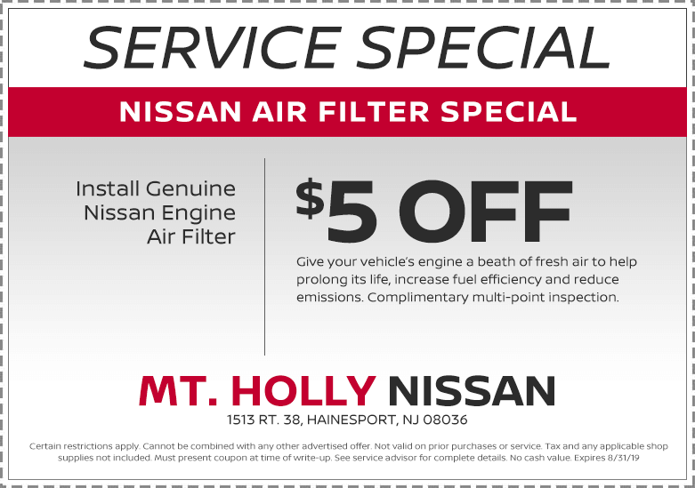 Air Filter Special