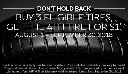 BUY 3 ELIGIBLE TIRES, GET THE 4TH FOR Dont Hold Back