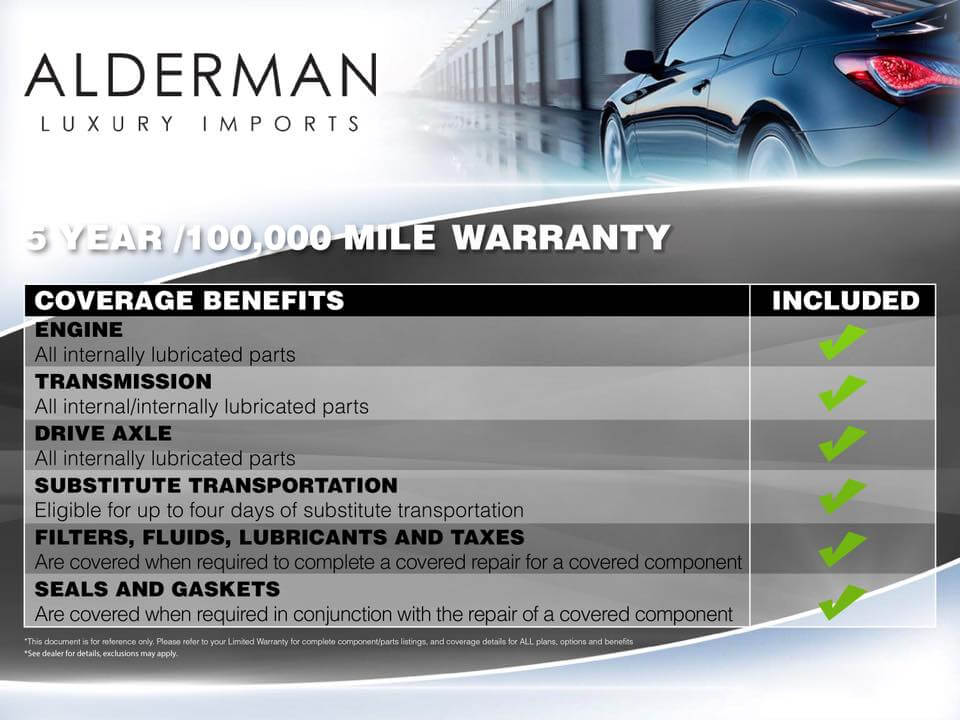 Alderman Warranty