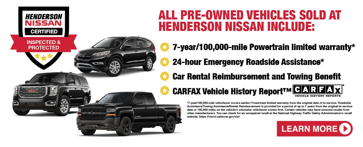 Nissan Certified