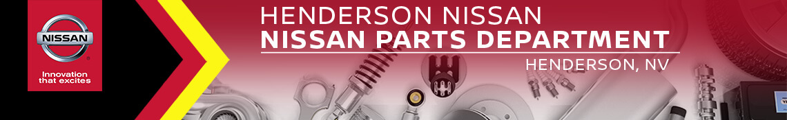 Henderson Nissan parts department near Las Vegas, NV