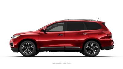 New 2019 Nissan Pathfinder SUV for sale at Henderson Nissan dealership near Paradise