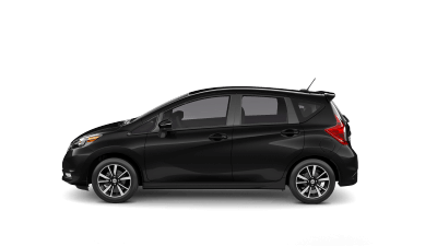 New 2019 Nissan Versa Note hatchback car for sale at Henderson Nissan dealership near Spring Valley