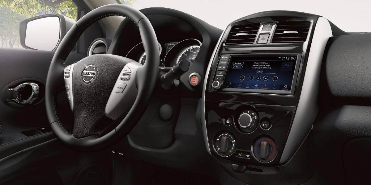 2019 Versa Sedan interior design