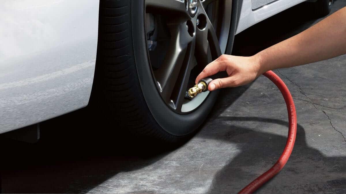 2019 Nissan Versa Sedan tire pressure monitoring system
