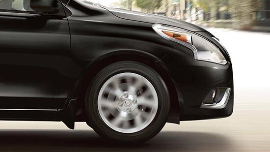 2019 Nissan Versa Sedan premium front suspension