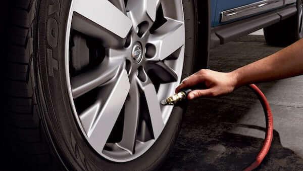 2019 Nissan Armada Tire Pressure Monitoring System