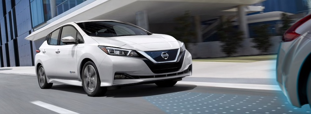 2019 Nissan Leaf driver assistance features