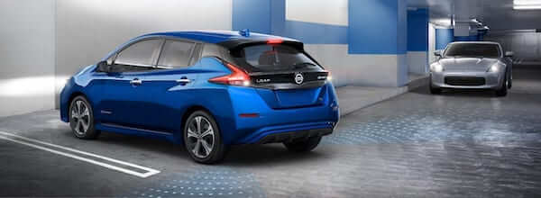 2019 Nissan Leaf Rear Cross Traffic Alert