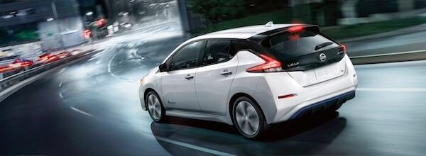 2019 Nissan Leaf Intelligent Trace Control