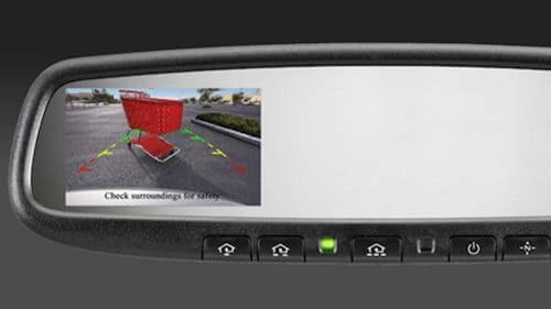 2019 Nissan 370Z Coupe Rearview Monitor