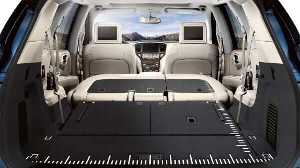 2019 Nissan Pathfinder Fold Flat Floor