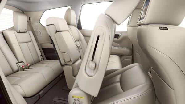 2019 Nissan Pathfinder Flexible Interior