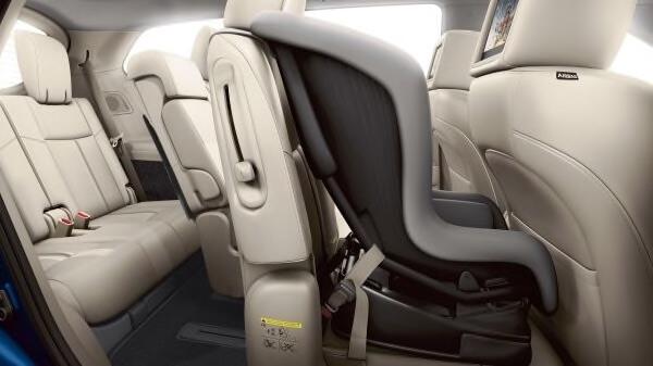 2019 Nissan Pathfinder Latch and Glide Technology