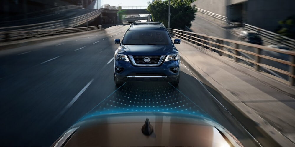 2019 Nissan Pathfinder Automatic Emergency Braking